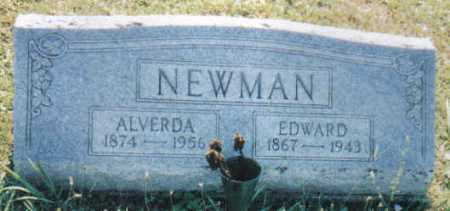 NEWMAN, EDWARD - Adams County, Ohio | EDWARD NEWMAN - Ohio Gravestone Photos