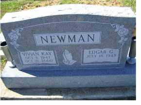 NEWMAN, EDGAR G. - Adams County, Ohio | EDGAR G. NEWMAN - Ohio Gravestone Photos