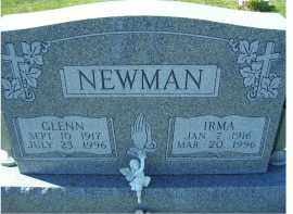 NEWMAN, IRMA - Adams County, Ohio | IRMA NEWMAN - Ohio Gravestone Photos
