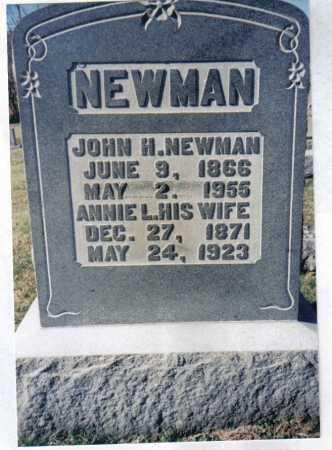 NEWMAN, ANNIE L. - Adams County, Ohio | ANNIE L. NEWMAN - Ohio Gravestone Photos