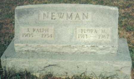 NEWMAN, J. RALPH - Adams County, Ohio | J. RALPH NEWMAN - Ohio Gravestone Photos