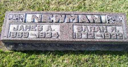 NEWMAN, JAMES A. - Adams County, Ohio | JAMES A. NEWMAN - Ohio Gravestone Photos