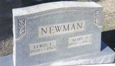 NEWMAN, MARY J. - Adams County, Ohio | MARY J. NEWMAN - Ohio Gravestone Photos