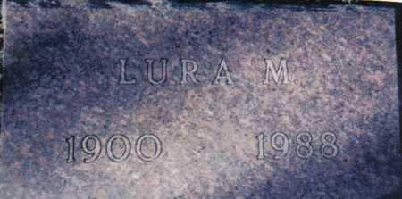 NEWMAN, LURA M. - Adams County, Ohio | LURA M. NEWMAN - Ohio Gravestone Photos