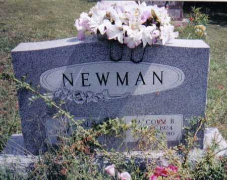 NEWMAN, MALCOM B. - Adams County, Ohio | MALCOM B. NEWMAN - Ohio Gravestone Photos