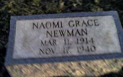 NEWMAN, NAOMI GRACE - Adams County, Ohio | NAOMI GRACE NEWMAN - Ohio Gravestone Photos