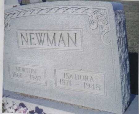 MEADE NEWMAN, ISADORA - Adams County, Ohio | ISADORA MEADE NEWMAN - Ohio Gravestone Photos