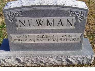 NEWMAN, MYRTLE - Adams County, Ohio | MYRTLE NEWMAN - Ohio Gravestone Photos