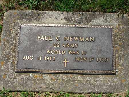 NEWMAN, PAUL C. - Adams County, Ohio | PAUL C. NEWMAN - Ohio Gravestone Photos