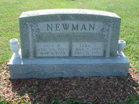 NEWMAN, PAUL B. - Adams County, Ohio | PAUL B. NEWMAN - Ohio Gravestone Photos