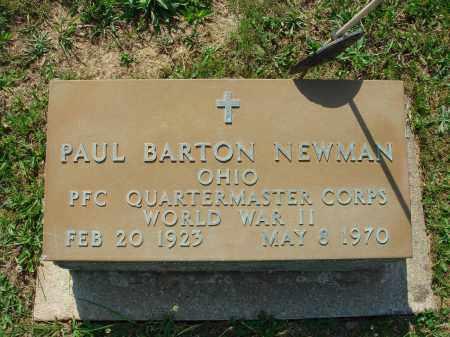 NEWMAN, PAUL BARTON - Adams County, Ohio | PAUL BARTON NEWMAN - Ohio Gravestone Photos