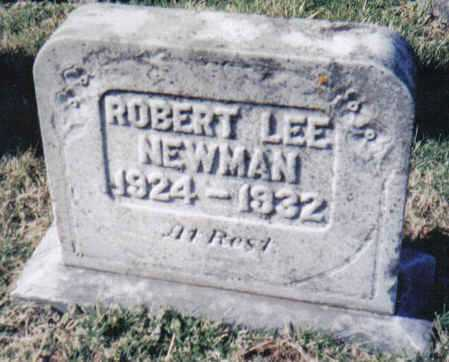 NEWMAN, ROBERT LEE - Adams County, Ohio | ROBERT LEE NEWMAN - Ohio Gravestone Photos