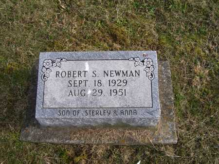 NEWMAN, ROBERT S. - Adams County, Ohio | ROBERT S. NEWMAN - Ohio Gravestone Photos