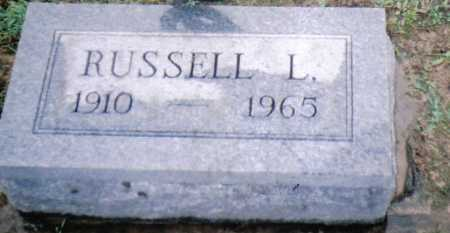 NEWMAN, RUSSELL L. - Adams County, Ohio | RUSSELL L. NEWMAN - Ohio Gravestone Photos