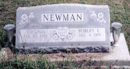 NEWMAN, VIRGINIA - Adams County, Ohio | VIRGINIA NEWMAN - Ohio Gravestone Photos