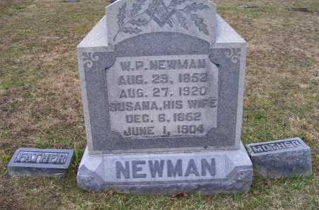 NEWMAN, W. P. - Adams County, Ohio | W. P. NEWMAN - Ohio Gravestone Photos