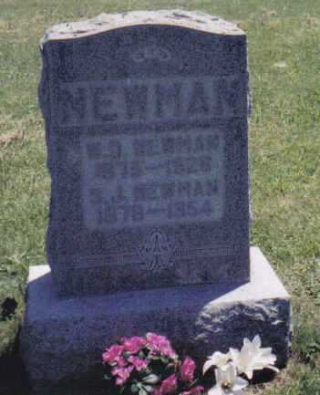 NEWMAN, S.J. - Adams County, Ohio | S.J. NEWMAN - Ohio Gravestone Photos