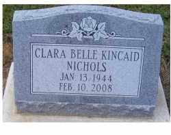 KINCAID NICHOLS, CLARA BELLE - Adams County, Ohio | CLARA BELLE KINCAID NICHOLS - Ohio Gravestone Photos