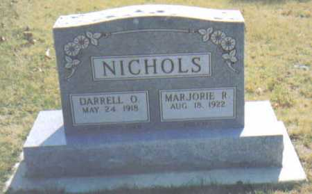 NICHOLS, DARRELL O. - Adams County, Ohio | DARRELL O. NICHOLS - Ohio Gravestone Photos