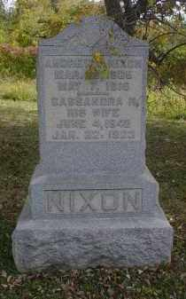 NIXON, CASSANDRA H. - Adams County, Ohio | CASSANDRA H. NIXON - Ohio Gravestone Photos