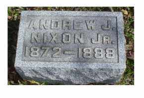 NIXON, ANDREW J. JR. - Adams County, Ohio | ANDREW J. JR. NIXON - Ohio Gravestone Photos