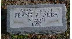 NIXON, INFANT - Adams County, Ohio | INFANT NIXON - Ohio Gravestone Photos