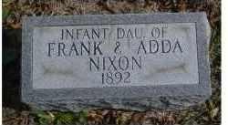 NIXON, INFANT - Adams County, Ohio | INFANT NIXON - Ohio Gravestone Photos