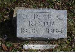 NIXON, OLIVER A. - Adams County, Ohio | OLIVER A. NIXON - Ohio Gravestone Photos
