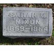 NIXON, SARAH M. - Adams County, Ohio | SARAH M. NIXON - Ohio Gravestone Photos
