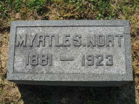 NORT, MYRTLE S. - Adams County, Ohio | MYRTLE S. NORT - Ohio Gravestone Photos