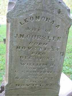 OURSLER, LEONORA A. - Adams County, Ohio | LEONORA A. OURSLER - Ohio Gravestone Photos