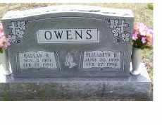 OWENS, ELIZABETH R - Adams County, Ohio | ELIZABETH R OWENS - Ohio Gravestone Photos