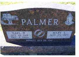 PALMER, MARY L. - Adams County, Ohio | MARY L. PALMER - Ohio Gravestone Photos