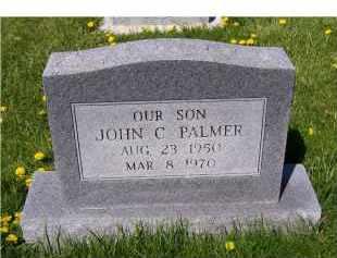 PALMER, JOHN C. - Adams County, Ohio | JOHN C. PALMER - Ohio Gravestone Photos