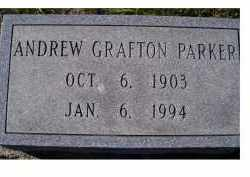 PARKER, ANDREW GRAFTON - Adams County, Ohio | ANDREW GRAFTON PARKER - Ohio Gravestone Photos
