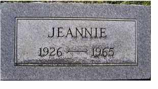 PARKER, JEANNIE - Adams County, Ohio | JEANNIE PARKER - Ohio Gravestone Photos