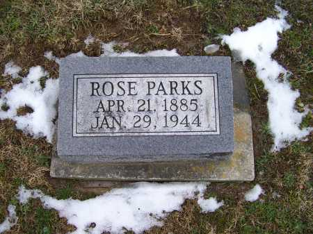 PARKS, ROSE - Adams County, Ohio | ROSE PARKS - Ohio Gravestone Photos