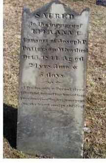 PATTERSON, EFFA ANN - Adams County, Ohio | EFFA ANN PATTERSON - Ohio Gravestone Photos