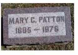 PATTON, MARY C. - Adams County, Ohio | MARY C. PATTON - Ohio Gravestone Photos