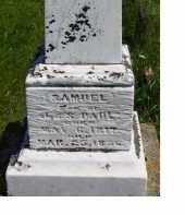 PAUL, SAMUEL - Adams County, Ohio | SAMUEL PAUL - Ohio Gravestone Photos
