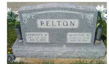 PELTON, LAURENCE W. - Adams County, Ohio | LAURENCE W. PELTON - Ohio Gravestone Photos