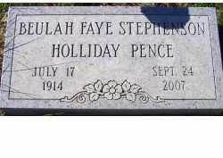 PENCE, BEULAH FAYE - Adams County, Ohio | BEULAH FAYE PENCE - Ohio Gravestone Photos