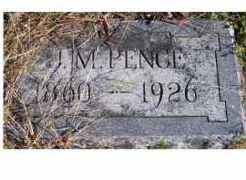 PENCE, J. M. - Adams County, Ohio | J. M. PENCE - Ohio Gravestone Photos