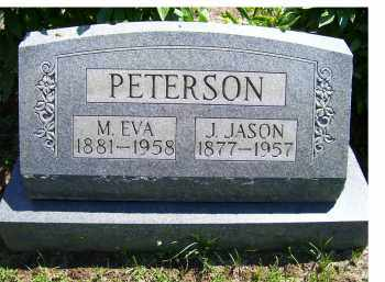 PETERSON, M. EVA - Adams County, Ohio | M. EVA PETERSON - Ohio Gravestone Photos