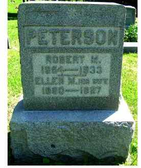 PETERSON, ELLEN M. - Adams County, Ohio | ELLEN M. PETERSON - Ohio Gravestone Photos