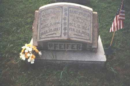 PFEIFER, LAURA JANE - Adams County, Ohio | LAURA JANE PFEIFER - Ohio Gravestone Photos