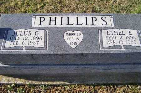 PHILLIPS, JULUS G. - Adams County, Ohio | JULUS G. PHILLIPS - Ohio Gravestone Photos