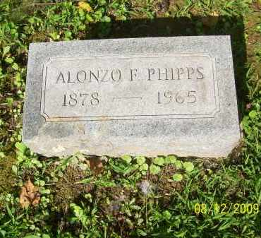PHIPPS, ALONZO F - Adams County, Ohio | ALONZO F PHIPPS - Ohio Gravestone Photos