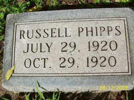 PHIPPS, RUSSELL - Adams County, Ohio | RUSSELL PHIPPS - Ohio Gravestone Photos