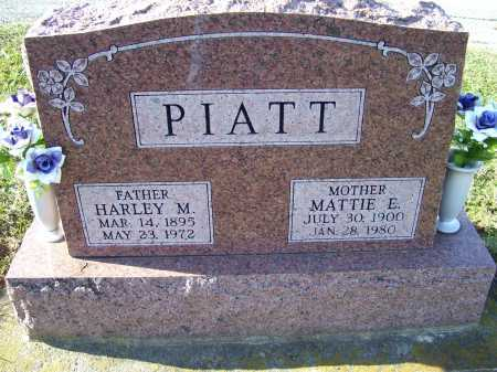 PIATT, MATTIE E. - Adams County, Ohio | MATTIE E. PIATT - Ohio Gravestone Photos